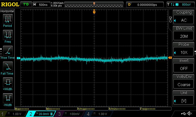 Oscilloscope snapshot