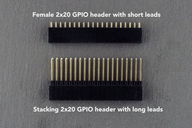 GPIO header options