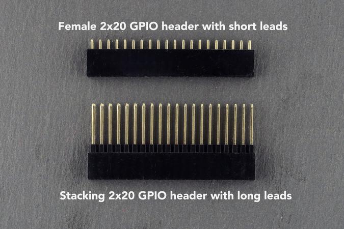GPIO header options