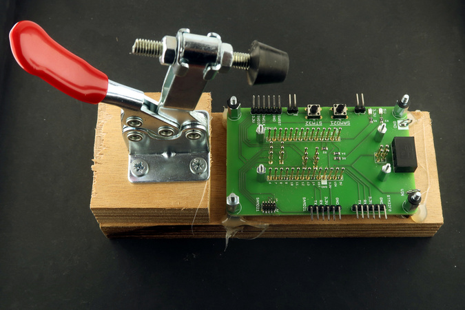 The CANZERO test jig