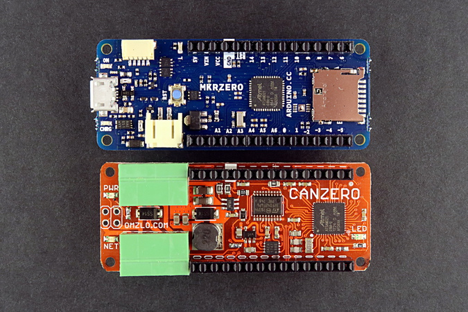 Omzlo: The NoCan Arduino Library
